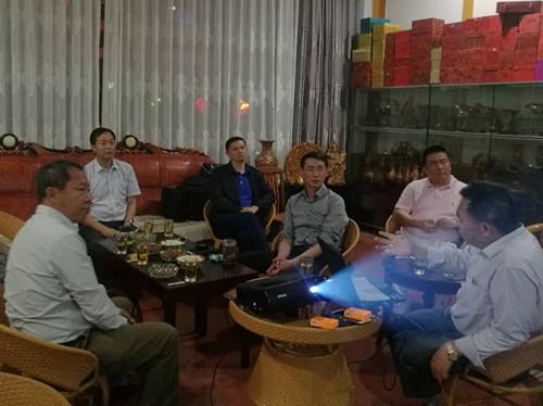 """民革云南省委赴发基卡村助力策划""""娜姑石榴文化节"""""""