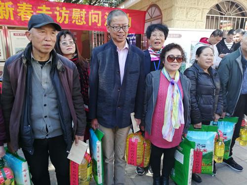 民革云南省委机关慰问翠湖社区困难群众