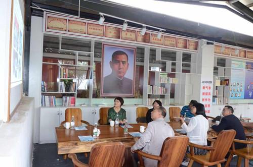 """民革中央宣传部部长刘良翠在昆调研""""民革党员之家"""""""